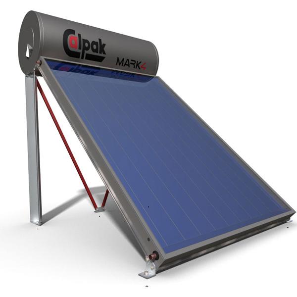 Ηλιακός Θερμοσίφωνας CALPAK MARK4 125 Lt με επιλεκτικό συλλέκτη 2,1
