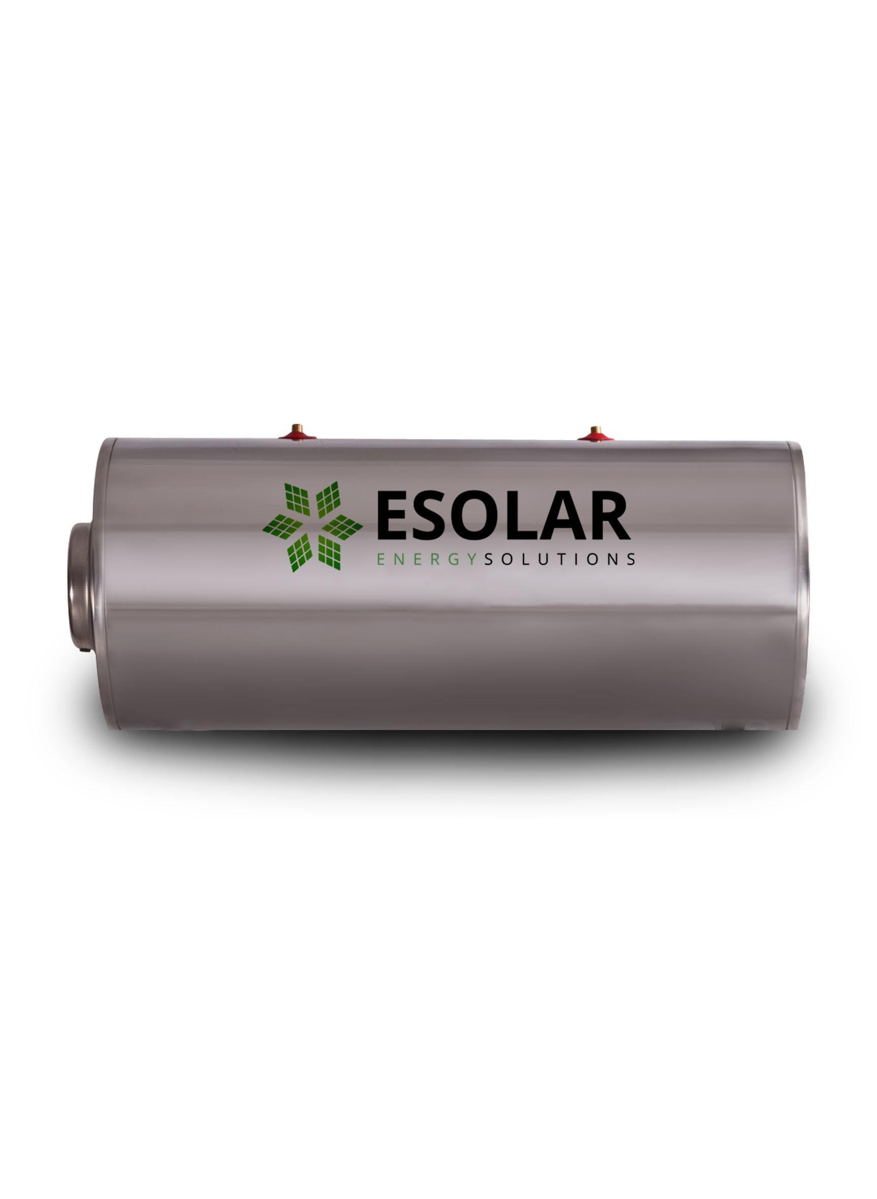 Μπόϊλερ (Καζάνι) Ηλιακού INOX 200 Lt