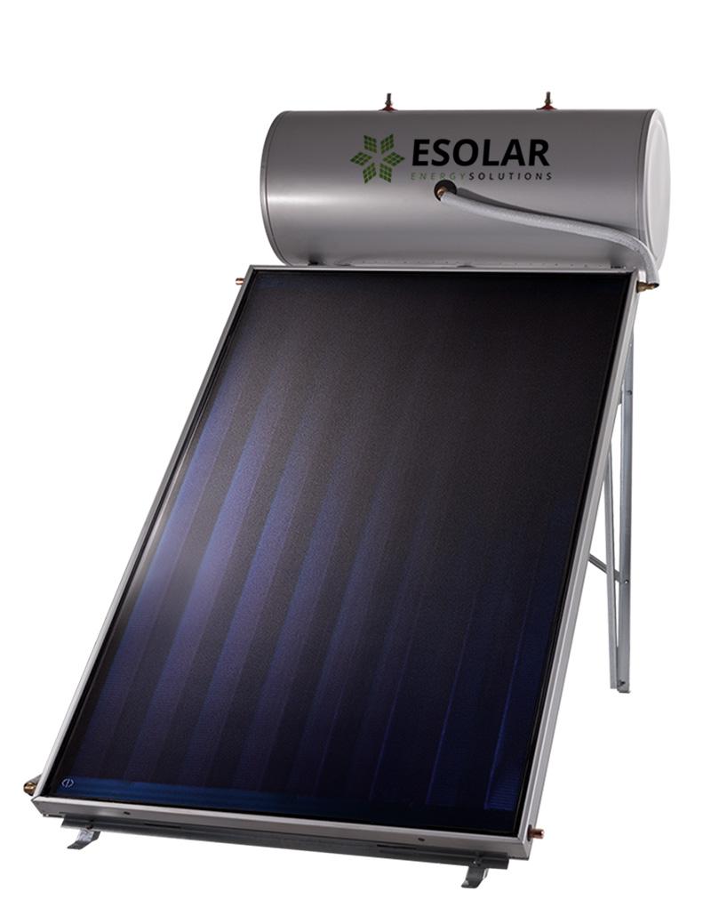 Ηλιακός Θερμοσίφωνας GLASS 160 Lt με επιλεκτικό συλλέκτη