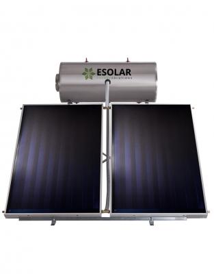 Ηλιακός Θερμοσίφωνας INOX 200 Lt με επιλλεκτικoύς συλλέκτες