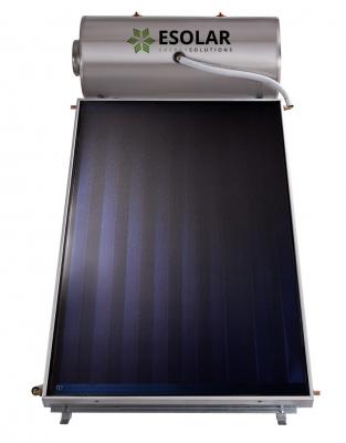 Ηλιακός Θερμοσίφωνας INOX 120 Lt με επιλλεκτικό συλλέκτη